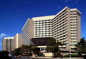 Crystal Gateway Marriott - DCA Airport Parking location - Long Term Parking