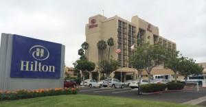 Hilton Irvine John Wayne Airport Parking Exterior