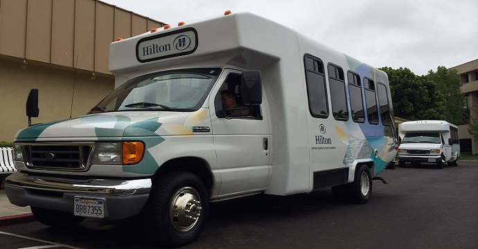 Hilton Irvine John Wayne Airport Parking Shuttle Large