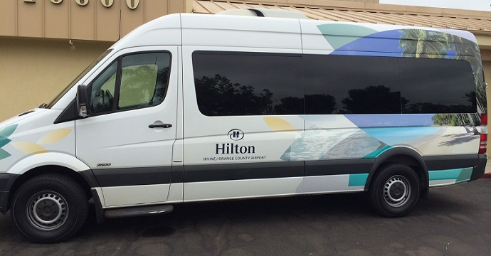 Hilton Irvine John Wayne Airport Parking Shuttle