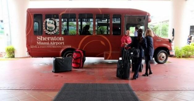 Sheraton Miami Airport Parking Shuttle MIA