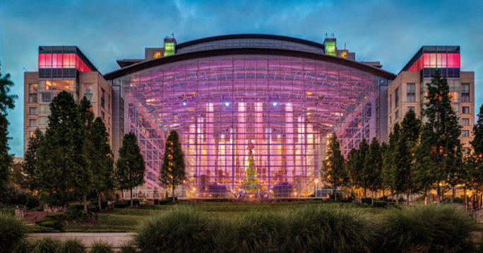 Gaylord National Harbor Hotel presents ICE!