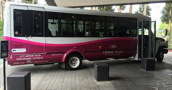 Crowne Plaza SFO Parking Shuttle